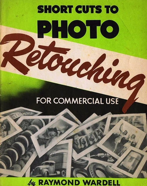 Retro Photograph Retouching Poster