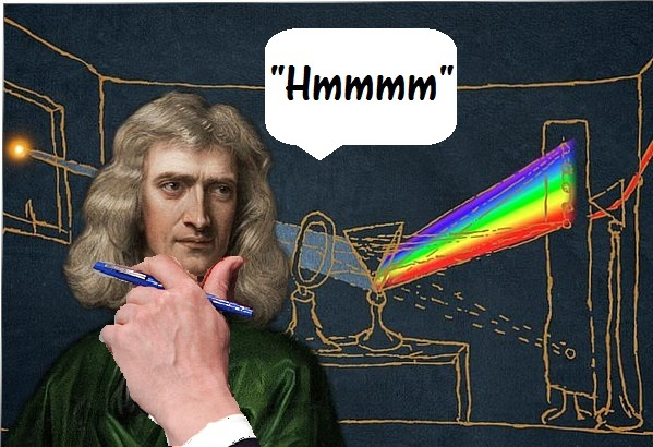 Isaac Newton's Principle of Photography Invention