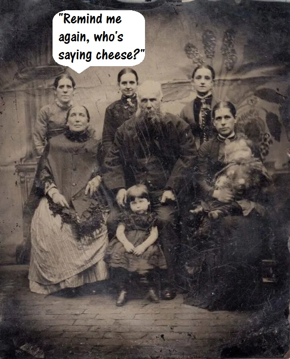 Victorian Family Group Photo