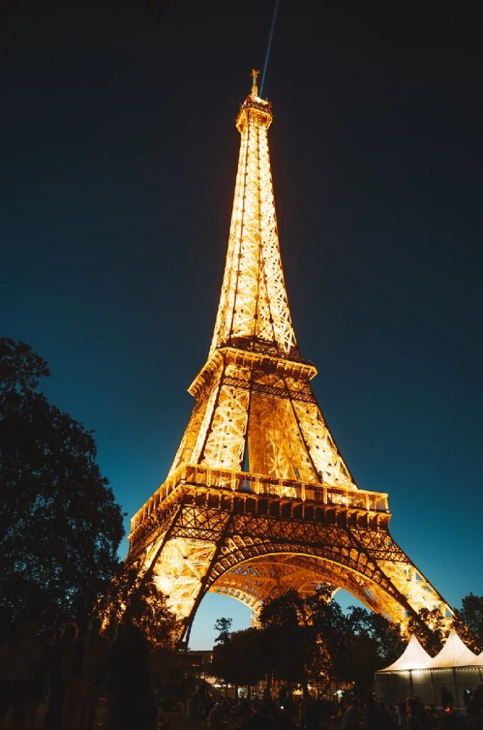Eiffel Tower photos taken at night might be illegal if used for advertising and promotional purposes.