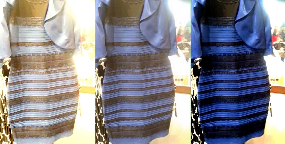 Is this dress white and gold, or black and blue? A social media meme to end all social media memes.