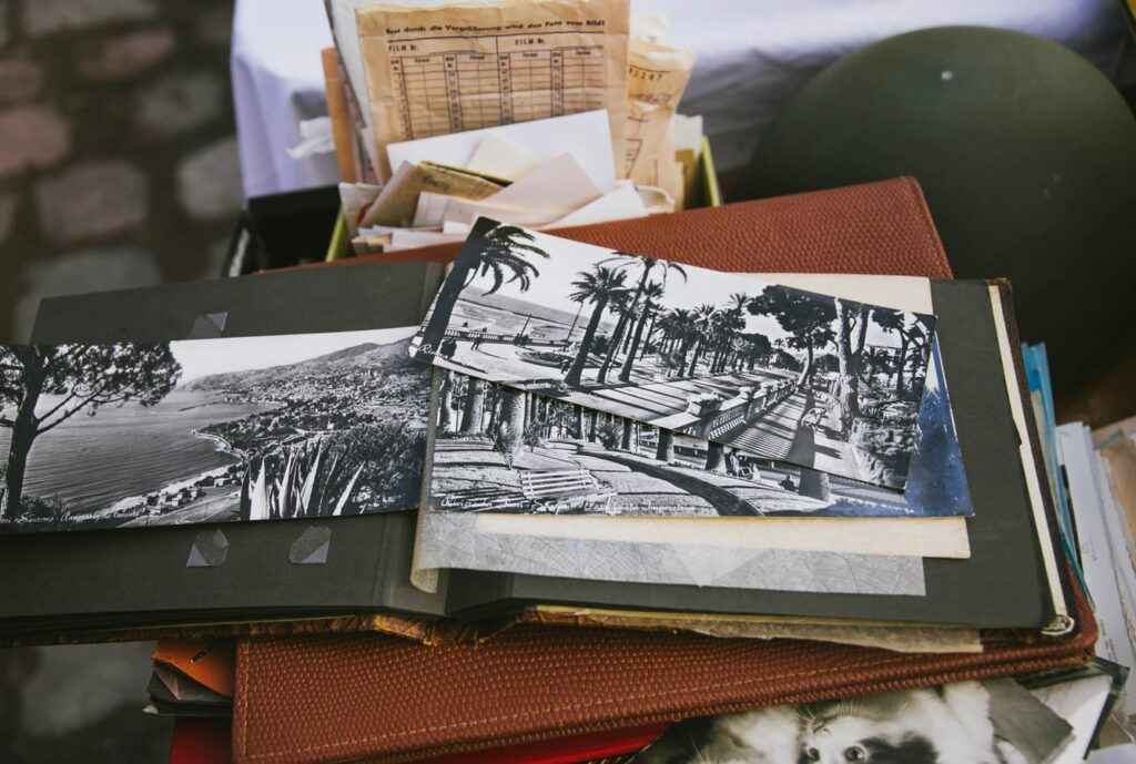 Find your old photo albums during lockdown, and request digital photo restoration services of professional retouchers.