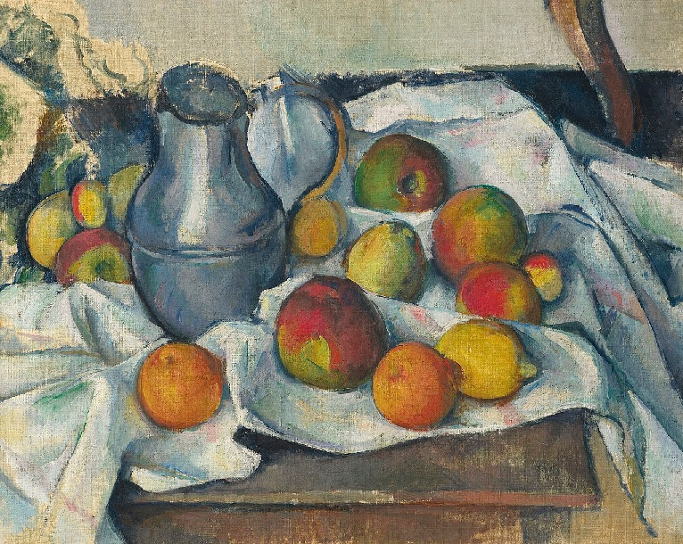 Lockdown art in the making, Cezanne's iconic fruit bowl composition was originated while the artist chose to self isolate from society.