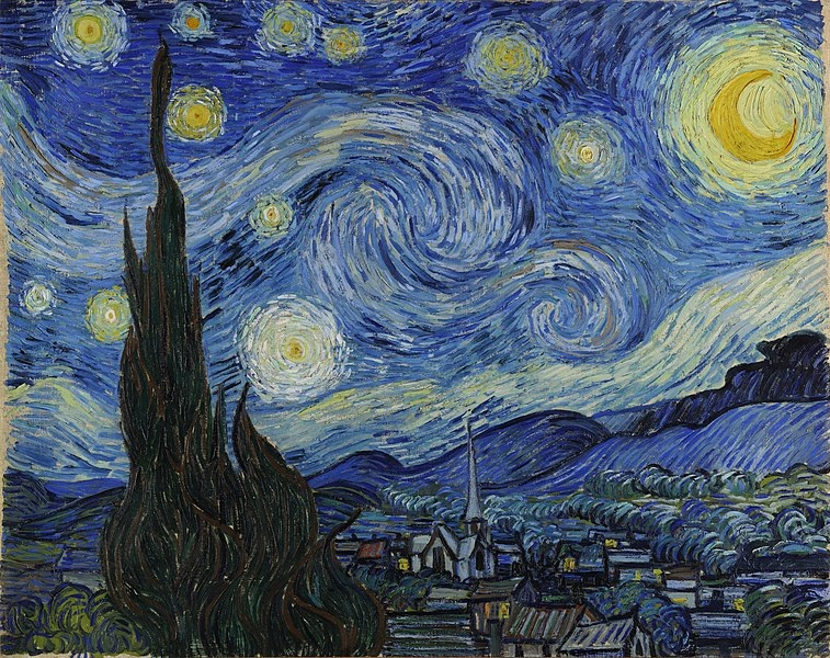 Lockdown art exponent, Vincent van Gogh's masterpiece was created during a period of self-isolation.